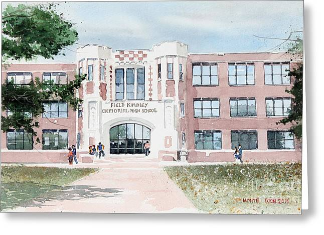 Field Kindley Memorial High School Greeting Card