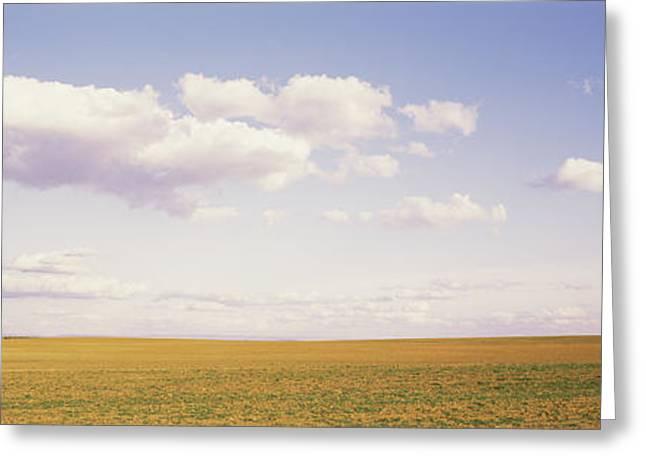 Field, Utah, Usa Greeting Card by Panoramic Images