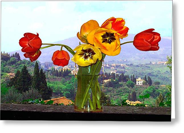 Fiesole Number One Greeting Card