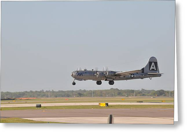 Fifi - Into The Wild Blue Yonder Greeting Card by John Black