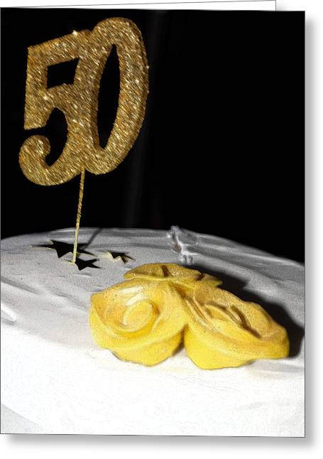Fifty Greeting Card