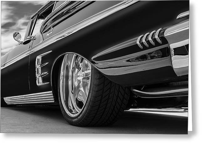 Fifty Eight Impala Greeting Card