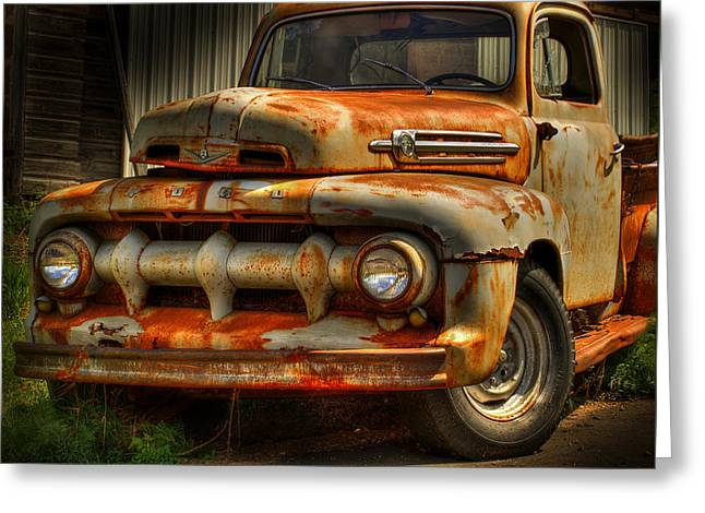 Fifty Two Ford Greeting Card