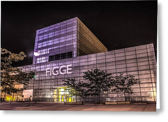 Figge Art Museum Greeting Card by Ray Congrove