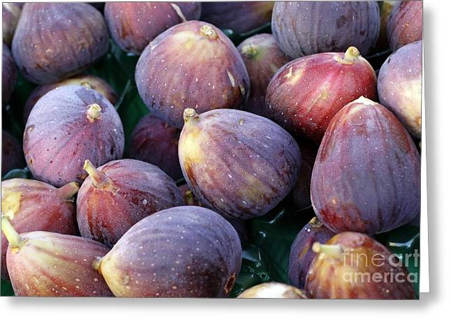 Figs Greeting Card by Denise Pohl