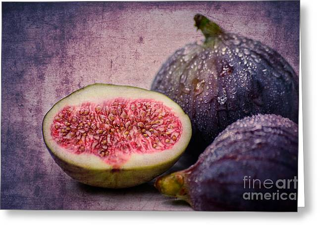Figs Greeting Card by Hannes Cmarits