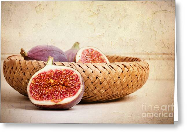 Figs Still Life Greeting Card