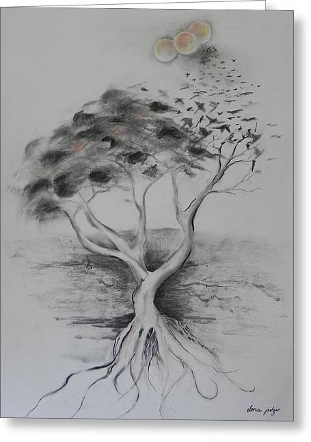 Figtree The Strength Greeting Card