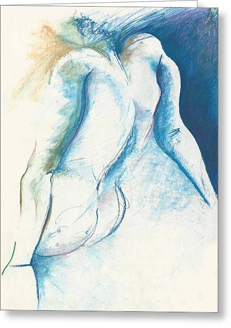 Figurative Abstract Greeting Card by Melinda Dare Benfield
