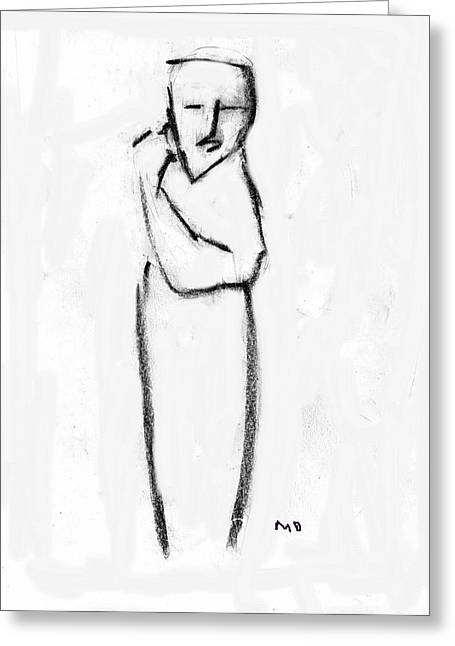 Figure Greeting Card
