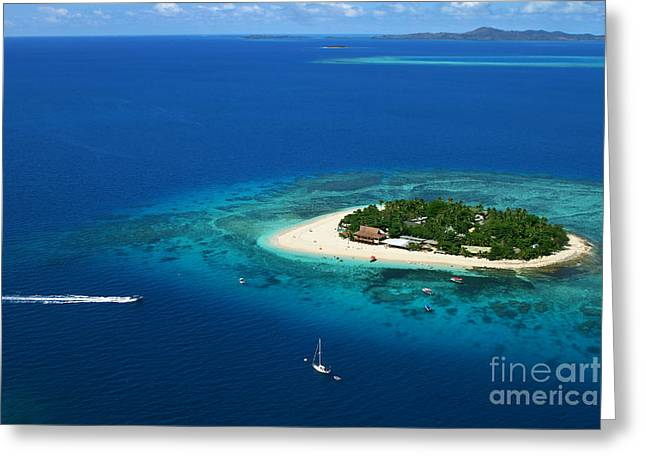 Fiji - South Pacific Paradise Greeting Card by Lars Ruecker