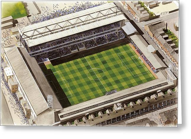 Filbert Street - Leicester City Greeting Card by Kevin Fletcher