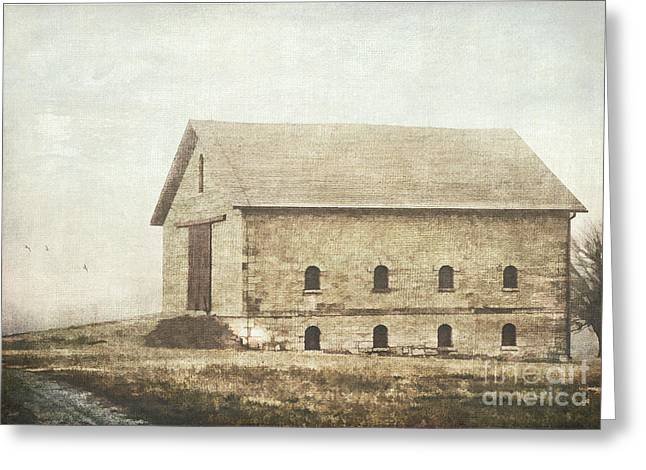 Filley Stone Barn Greeting Card