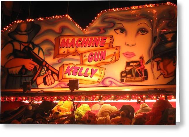 Film Noir  Joseph H. Lewis Gun Crazy 1950 2 Traveling Carnival Casa Grande Arizona 2004 Greeting Card by David Lee Guss