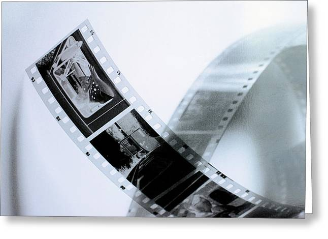 Film Strips Greeting Card by Tommytechno Sweden