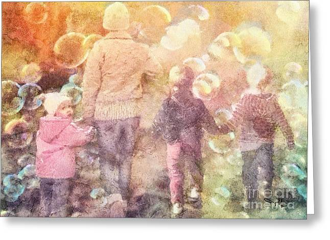 Finding Neverland Greeting Card by Mo T