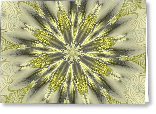 Finer Life Kaleidoscope Greeting Card