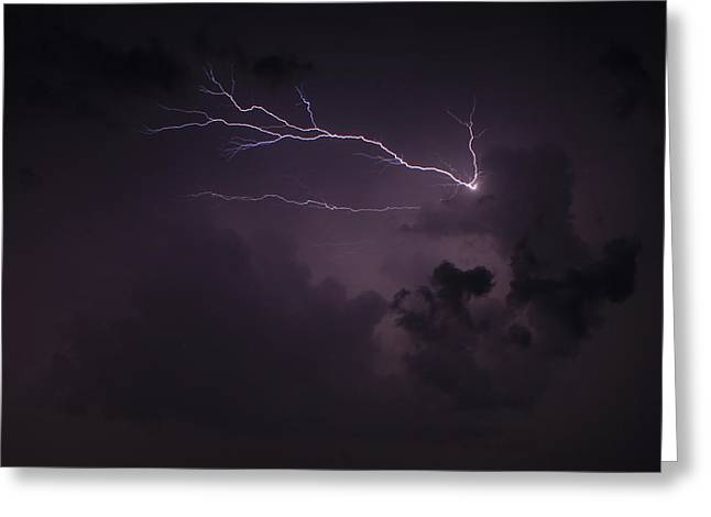 Finger Of God Too Greeting Card by Reid Callaway