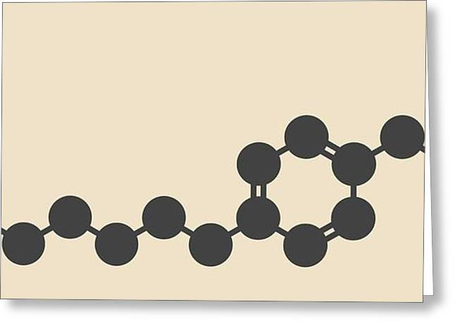 Fingolimod Drug Molecule Greeting Card by Molekuul