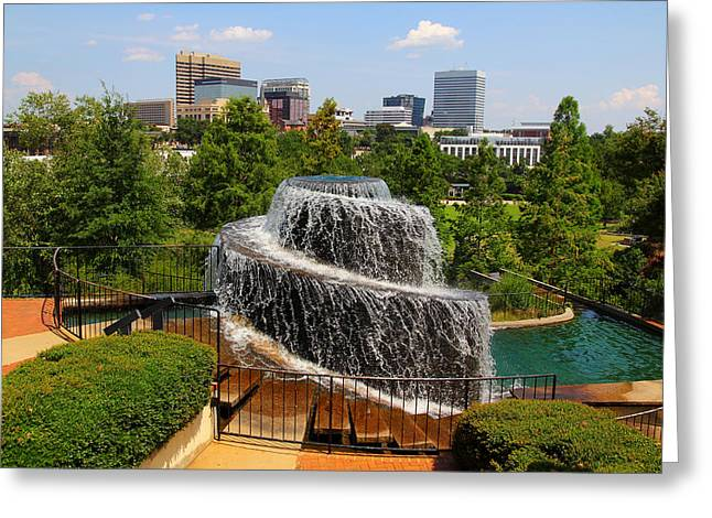 Finlay Park Columbia South Carolina Greeting Card