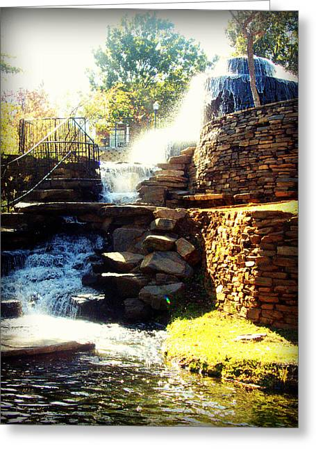 Finlay Park Fountain Greeting Card