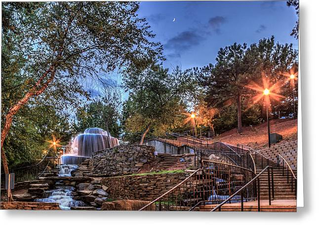 Finlay Park Greeting Card by Rob Sellers