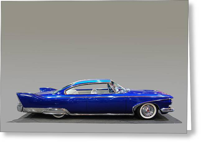 Finned Coupe Greeting Card