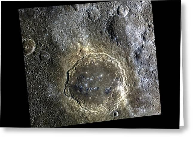 Firdousi Crater Greeting Card