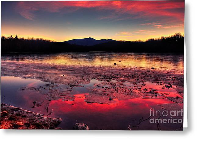 Fire And Ice At Price Greeting Card
