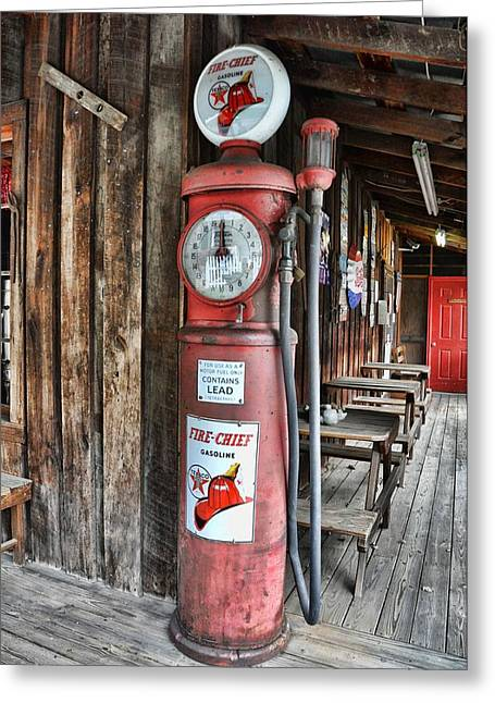 Fire Chief Greeting Card