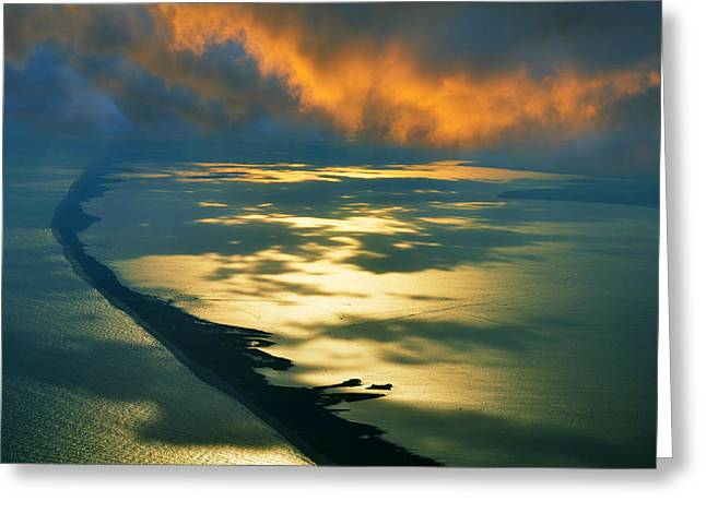 Fire Island Greeting Card by Laura Fasulo