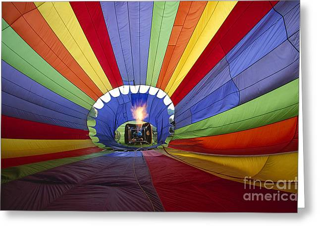 Fire The Balloon Greeting Card