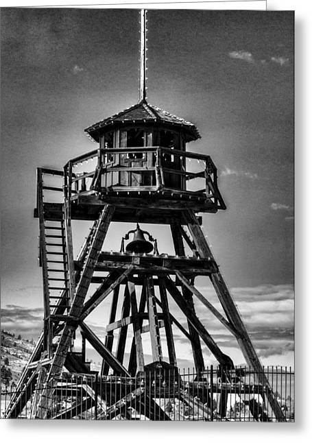 Fire Tower 2 Greeting Card by Fran Riley