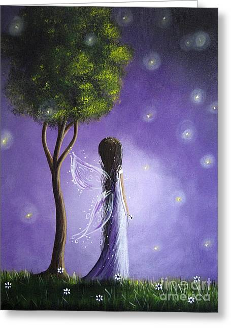 Original Fairy Art By Shawna Erback Greeting Card