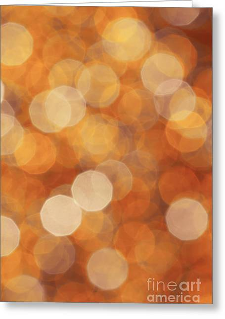 Firelight Greeting Card by Jan Bickerton