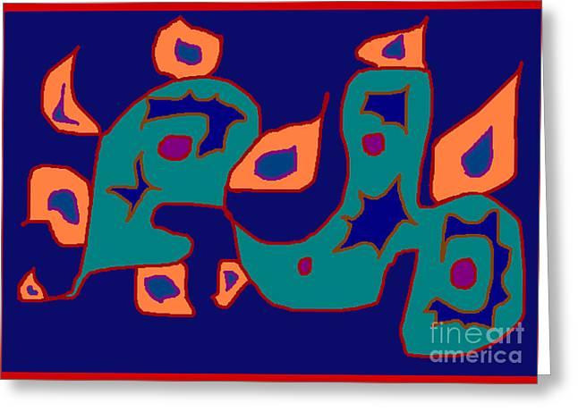 Firent Greeting Card by Meenal C