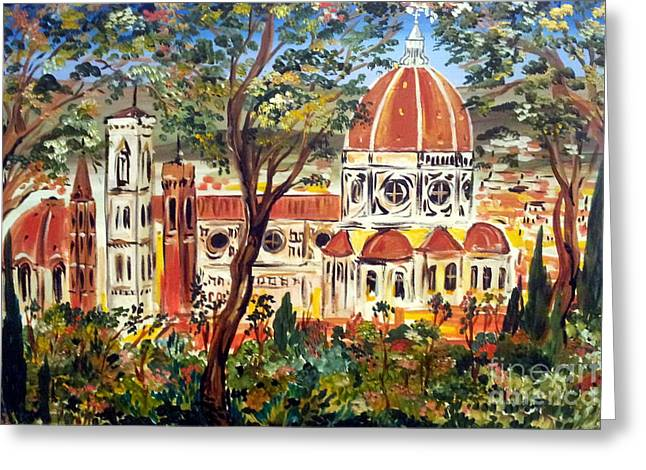 Firenze La Bella Greeting Card