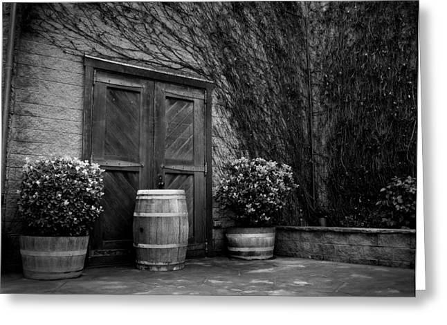 Firestone Vineyard Greeting Card by Jeff Garris