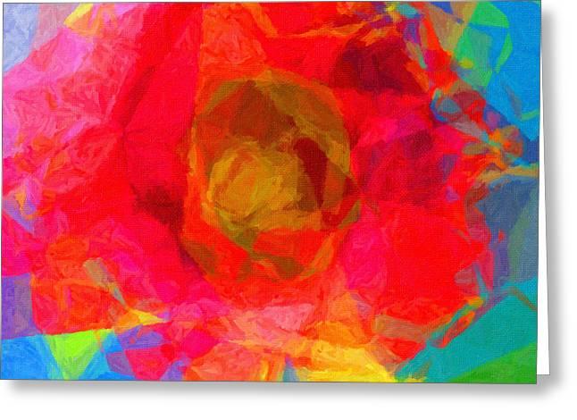 Firewheel - Gaillardia Pulchella Greeting Card