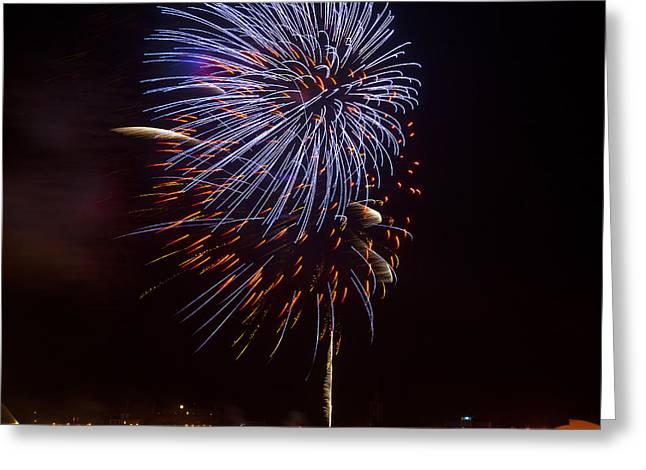 Firework 02 Greeting Card by Svetlana Sewell