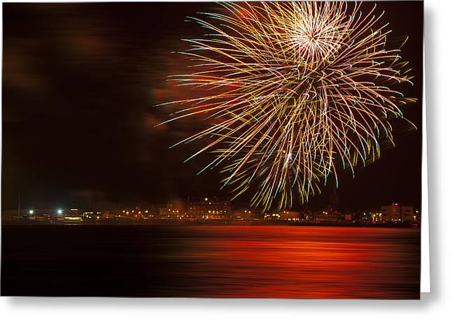 Firework 07 Greeting Card by Svetlana Sewell