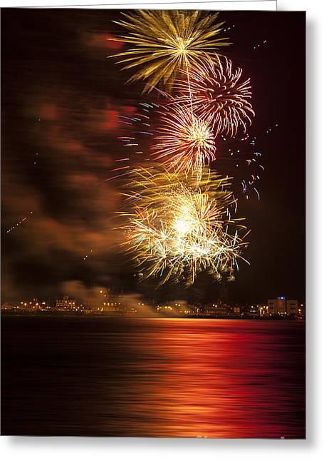 Firework 11 Greeting Card by Svetlana Sewell