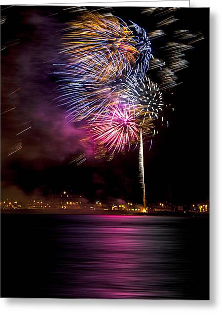 Firework 12 Greeting Card by Svetlana Sewell