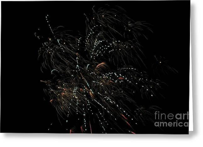 Fireworks 16 Greeting Card by Cassie Marie Photography