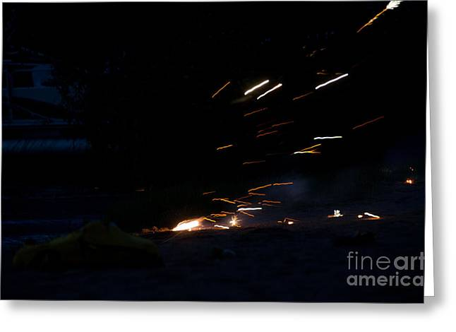 Fireworks 2 Greeting Card by Cassie Marie Photography