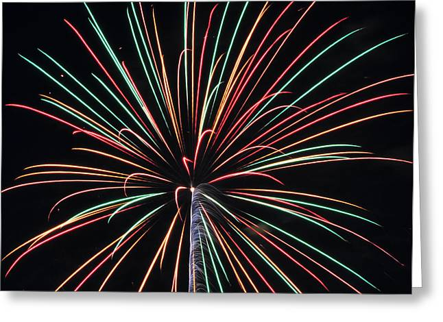 Fireworks 20 Greeting Card by Staci Bigelow