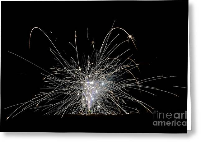 Fireworks 21 Greeting Card by Cassie Marie Photography