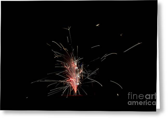 Fireworks 23 Greeting Card by Cassie Marie Photography