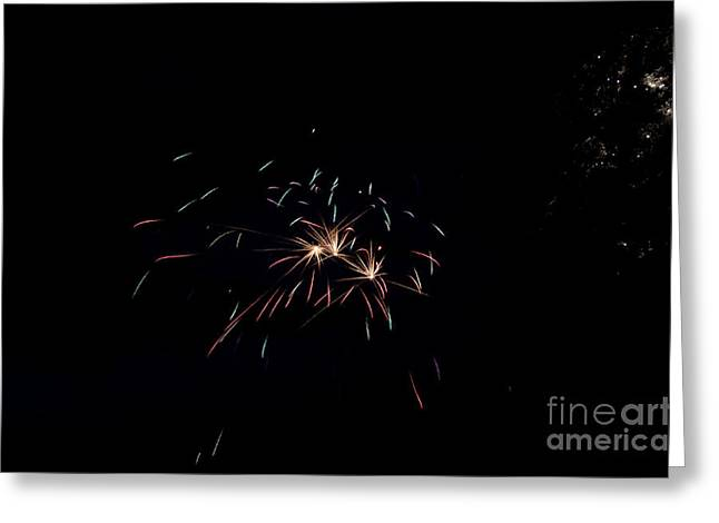 Fireworks 29 Greeting Card by Cassie Marie Photography