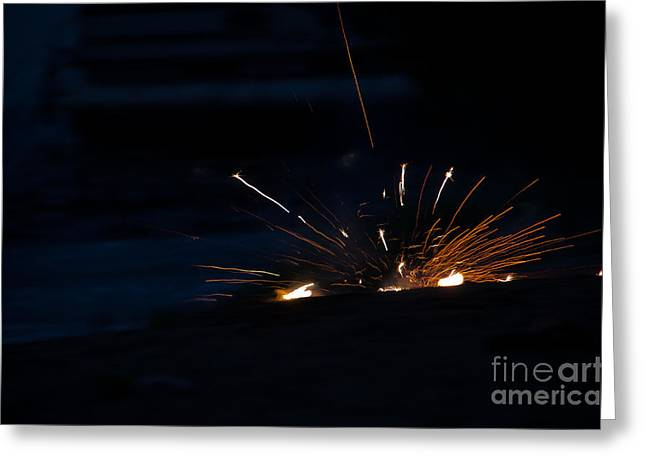 Fireworks 3 Greeting Card by Cassie Marie Photography